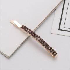 H1009 Hot Sale Bling Rhinestone Pave Hair Clips,Bling Crystal Hair Pins Bobby Pins