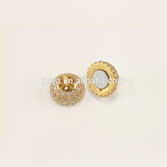 CZ6630 High quality cz micro pave magnetic clasp for jewelry
