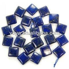 LL1015 Natural Lapis Lazuli square beads,lazuli square beads