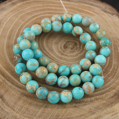 SM3008 Popular Natural Stone Sea Sediment Jasper Beads,Colorful Imperial Jasper Round beads,Impression Jasper Beads