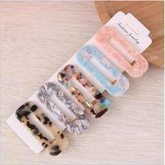 H1007  Fashion Retro Pearl Hair Clips, Tortoise Shell Pearl Barrette Hairpins,  Korean Hairpins Acrylic Hair Clips Sets