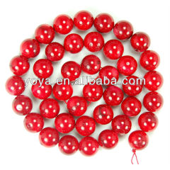 CB8008 Natural red coral beads