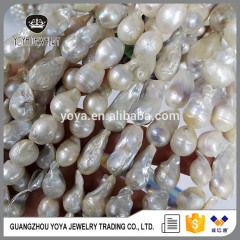 FWP010 Natural freshwater pearl beads in bulk,high quality loose pearl gemstone with freeform
