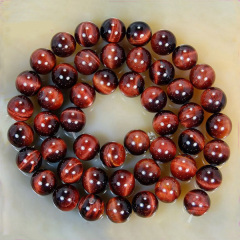 TE3005 Wholesale natural red tiger eye stone beads,loose gemstone jewelry