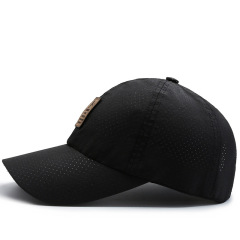 Spring summer thin quick drying mesh cap for men's outdoor sports