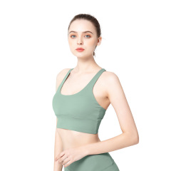 New yoga suit summer 2020 New Amazon fitness running Yoga suit large wholesale