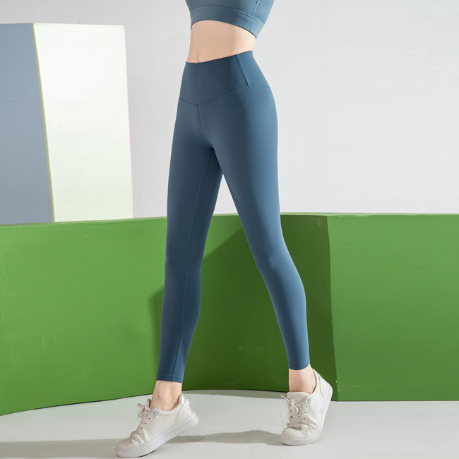 New yoga pants pocket sports tights fitness for women