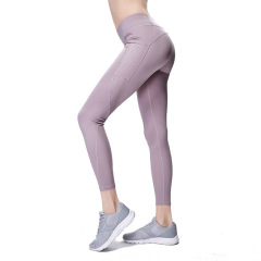 Yoga Pants women's hollow splicing hip lifting tights running fitness pants