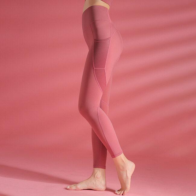 Yoga Pants women's hollow splicing hip lifting tights running fitness pants