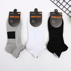 Men's sports basketball boat socks for running and outdoor