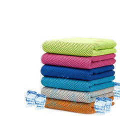 Factory wholesale outdoor sports quick dry cooling towel