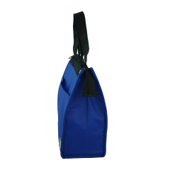 Wholesale customized zipper aluminum thermal food delivery cooler bag