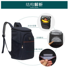 Insulated Cooler Backpack with Leak-proof Large Capacity