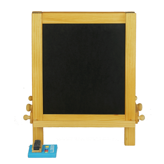 XL10102 Small Drawing Board for Baby Wooden Paint Toys Black Paint Educational Toys