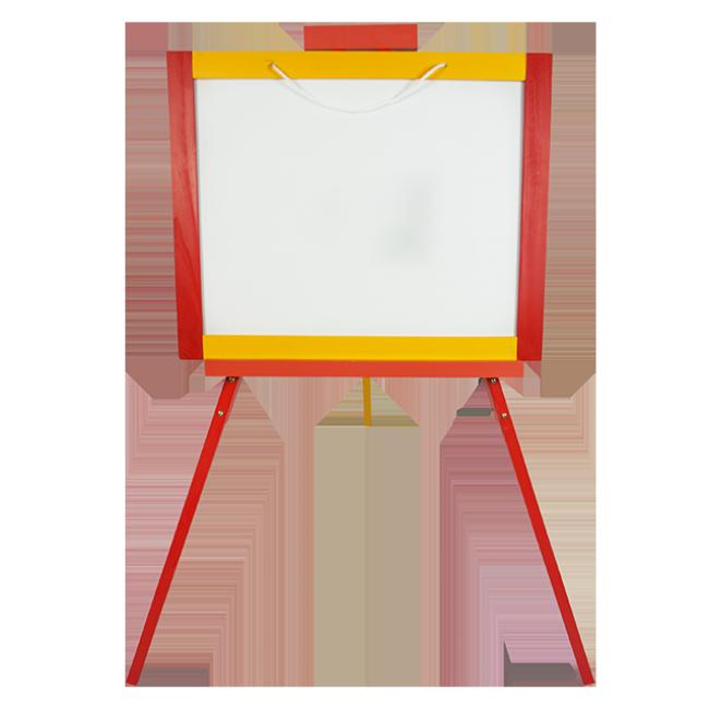 XL10134 Wooden Toys 3A Easel Blackboard Vertical Easel Children′s Drawing Board