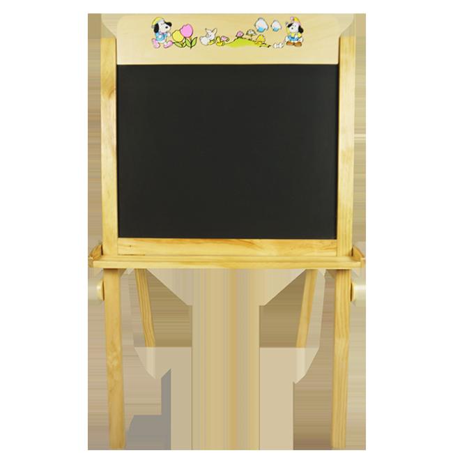 Wooden Kid Standing Easel Chalkboard Art Blackboard Easel