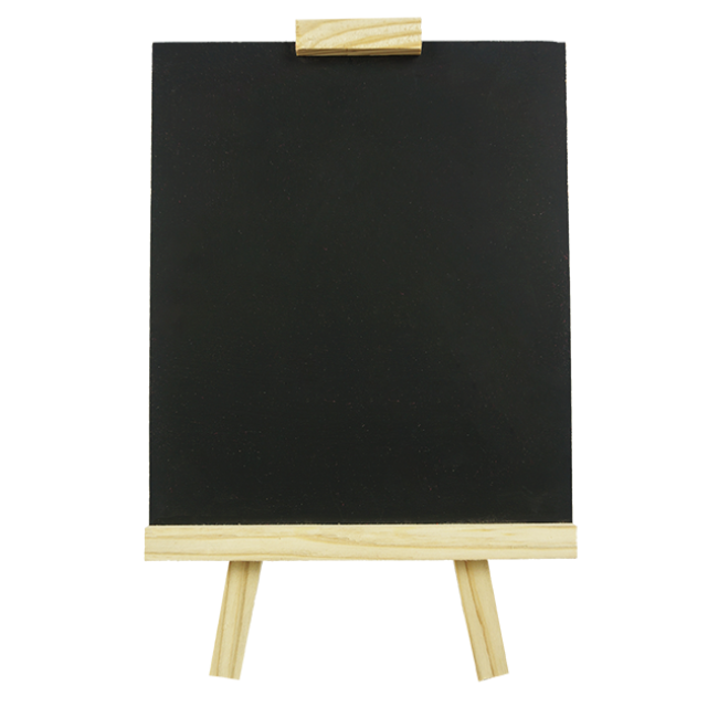 XL10174 Small Drawing Board for Baby Wooden Paint Toys Black Paint for Children