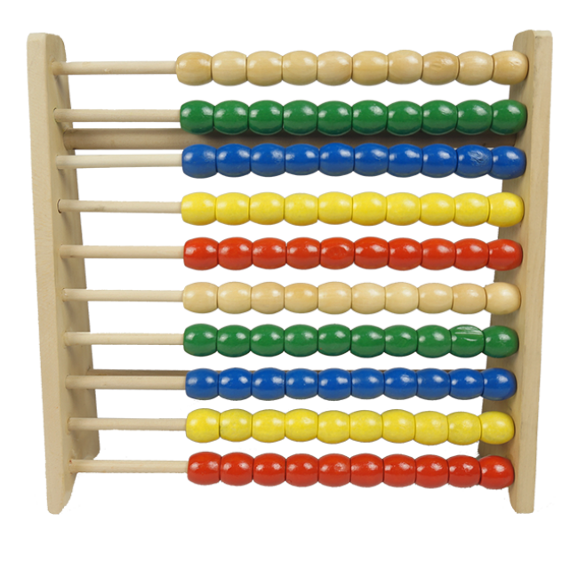 Preschool Kids Wooden Toys Wooden Small Abacus Toys Educational Wooden Toys