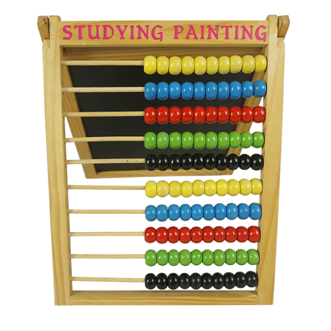 The Price Is Favorable and Practical Wooden Beads Abacus