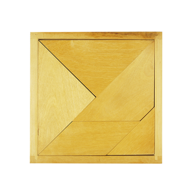 Kids Puzzles Educational Puzzles Game Wooden Tangram For Kids