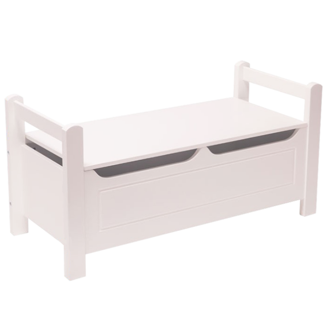 Children Bedroom Furniture Single Wood Doll House White Bed for Girls and Boys