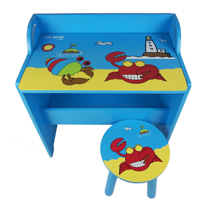 XL10200 Wholesale Customize Wooden Baby Table and Chair Used in Home or Kindergarten Kids Writing Table
