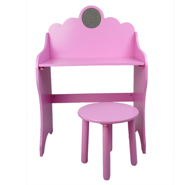 XL10207 Children Toys New Style Kids′ Craft Desk/Children Desk and Chairs The Dressing Table and Chair