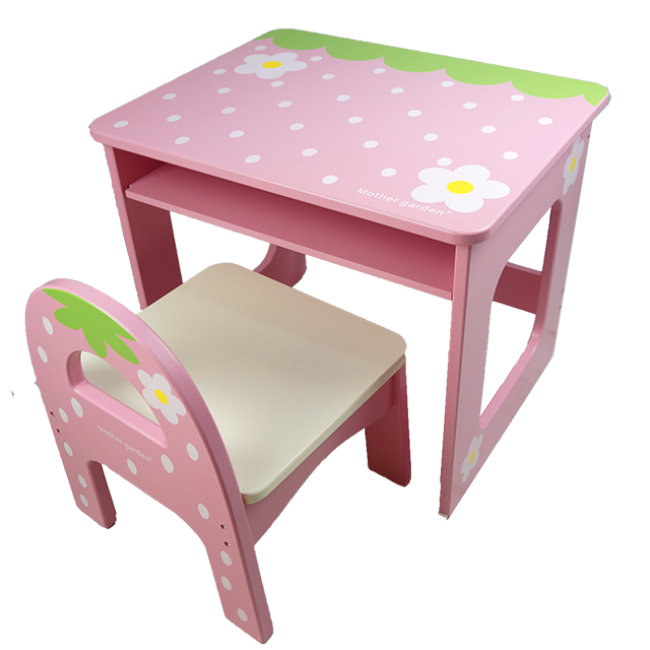 XL10212 Wooden Playhouse Flower Tables and Chairs