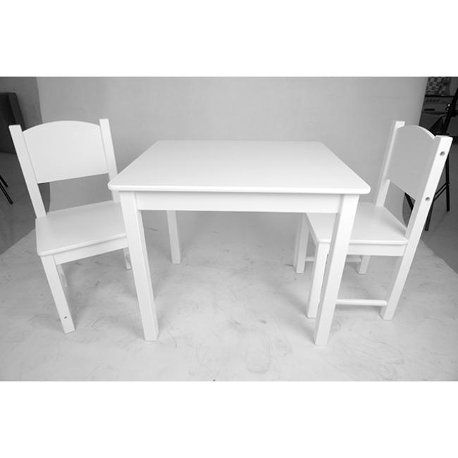 XL10214 Wooden Toys Children Play House White Desk Chair