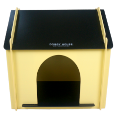 XL10217 Jouets en bois Kennel Kennel Toy Dog pour enfants