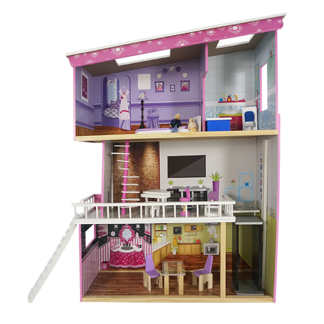 New Style of Three Layers of Wooden Doll House