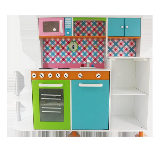 Children′s Favorite Combination Wooden Large Kitchen Toy