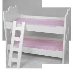 Produits de jouets en bois pour enfants XL10222 le long du lit avec une salle de jeux en bois avec échelle
