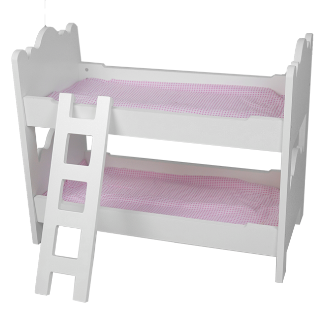 XL10222 Kids Toy Wooden Products up and Down The Bed with Ladder Wooden Playhouse