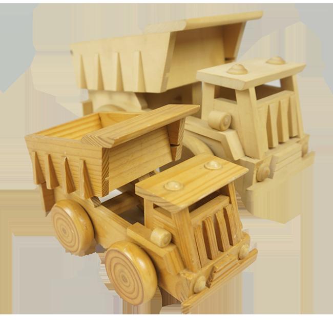 Wooden Mini Tractor Shovel Toys for Children kids wooden vehicle cars tractor dump car construction cars educational preschool
