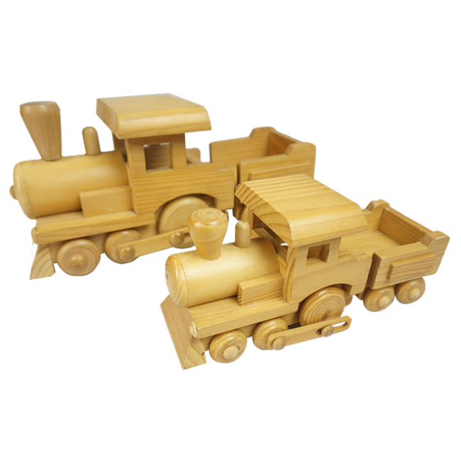 The Children′s Favorite Simulation Tractor Wooden Toys