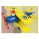 Modèle d'avion en bois Modèle d'avion en bois Jouet en bois pas cher