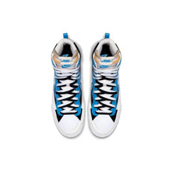 Hot Sacai x Blazer Mid with Dunk Casual Shoes Women Mens Trainers Toki Slip Txt Sports Skate Avant-garde Trailblazers Black Blue Sneakers Size 36-44