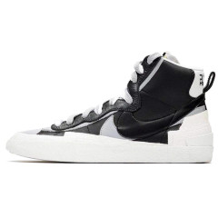 Hot Sacai x Blazer Mid with Dunk Casual Shoes Women Mens Trainers Toki Slip Txt Sports Skate Avant-garde Trailblazers Black White Sneakers Size 36-44