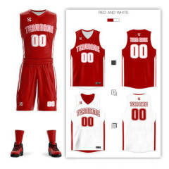 New custom Adult kids Men women Double-sided basketball jerseys Sports suit collage team Basketball jersey Uniforms wholesale jersey Sets big size