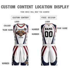 Wholesale OEM custom cheap Men's Youth Basketball Uniforms Customize Team Basketball Jerseys for Kids breathable Tracksuits design big size logo name free shipping