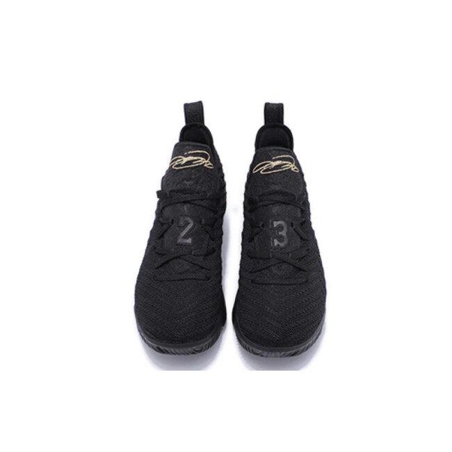 Discount LBJ16 newest Lebron 16 men basketball shoes fashion james sneakers high top sport shoes big max air cushion szie 40-46 King Black