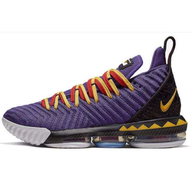 Discount LBJ16 newest Lebron 16 men basketball shoes fashion james sneakers high top sport shoes big max air cushion szie 40-46 Martin