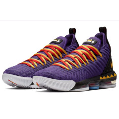 Discount LBJ16 newest Lebron 16 men basketball shoes fashion james sneakers high top sport shoes big max air cushion szie 40-46 Martin