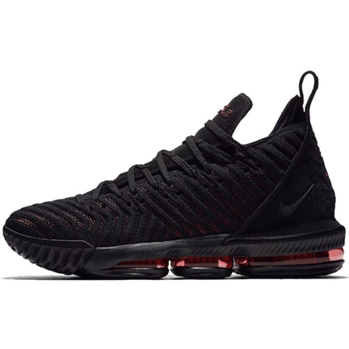 Discount LBJ16 newest Lebron 16 men basketball shoes fashion james sneakers high top sport shoes big max air cushion szie 40-46 Fresh Bred