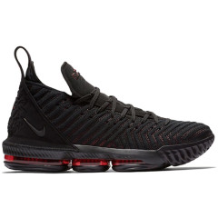 Discount LBJ16 newest Lebron 16 men basketball shoes fashion james sneakers high top sport shoes big max air cushion szie 40-46 Fresh Bred