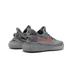 "Yeezy Boost 350 V2 running shoes ""Beluga 2.0"" Grey / Bold Orange / DGH Solid Grey sport shoes Men/Woman"