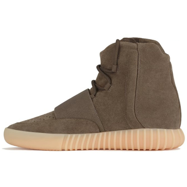 Yeezy 750 Boost Kanye NEN West 750 OG Boost Leather Fashion Ankle Boots Men's Sport Shoes women Outdoor boots Professional Kange West  Hot Selling Skateboard Breathable  Shoes High Sneaker Light Brown Gum(Chocolate)