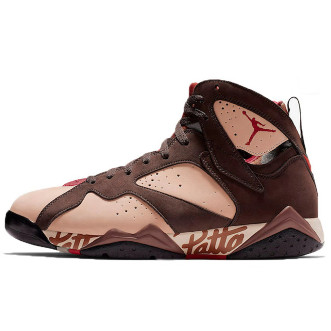 Top Fashion men Air Jordan 7 x Patta basketball shoes OG Jumpman Reflective Bugs Bunny Patta X 7 Basketball  Sneaks Ray Allen Olympic 7s Sport shoes