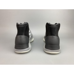 """2019 Yeezy Basketball """"Quantum"""" Released Authentic Kanye West 026 Yeezy Quantum Basketball Shoes Boost 3M Reflective White Grey Mens Womens Sports Sneakers big size"""